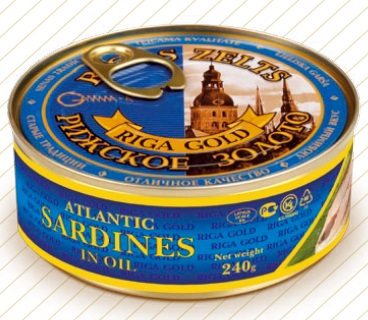 Atlantic Sardines in Oil with EO