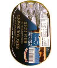 Baltic Sardines in Oil with EO