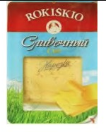 Rokiskio creamy cheese sliced