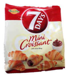 7 DAYS Cocoa Filling Croissant, Family Pack