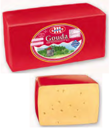 GOUDA Cheese (Dutch Type Cheese) 7.7 Oz.