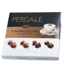 Assorted Milk Chocolate Pralines PERGALE Cappuccino Collection 1