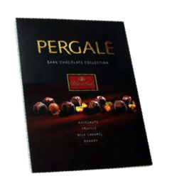 "PERGALĖ Dark Chocolate With Hazelnut"" 187g"