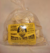 Potato & Fried Onion pierogi 2 Lb.