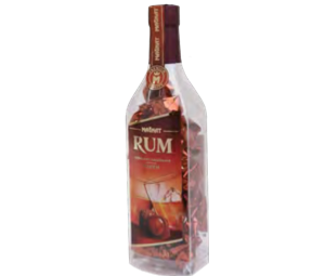 Rum bottle With Assorted Chocolates